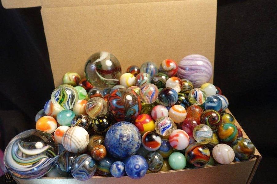 Did you collect marbles as a kid? If so, you need to find your collection because it might be worth some money