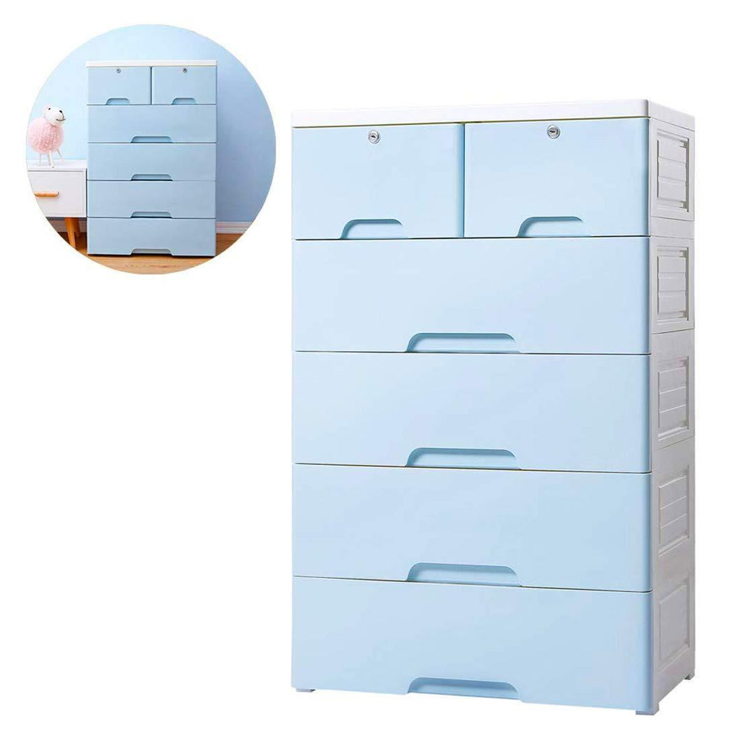Discover nafenai 5 drawer kids storage cabinet home storage drawers with lock wheel plastic bedroom storage bin closet kids toy box clothes storage cabinet