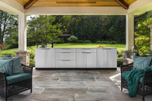 Load image into Gallery viewer, Outdoor Kitchen Stainless Steel 4 Piece Cabinet Set