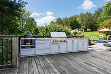 Load image into Gallery viewer, Outdoor Kitchen Aluminum 3 Piece Cabinet Set
