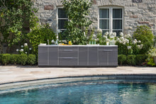 Load image into Gallery viewer, Outdoor Kitchen Aluminum 4 Piece Cabinet Set