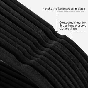 Discover the topgalaxy z velvet suit hangers 20 pack closet clothes hangers non slip hangers for coat hanger pants hangers dorm hangers black
