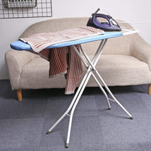 Load image into Gallery viewer, Purchase king do way ironing board 39 l x 12w x 33h opensize 4 leg table for ironing clothes tabletop ironing board with iron rest wide top iron board design