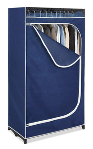 Selection whitmor clothes closet freestanding garment organizer with sturdy fabric cover