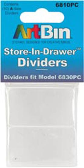 ArtBin Store-In-Drawer Dividers 10/Pkg-Fits 6830PC