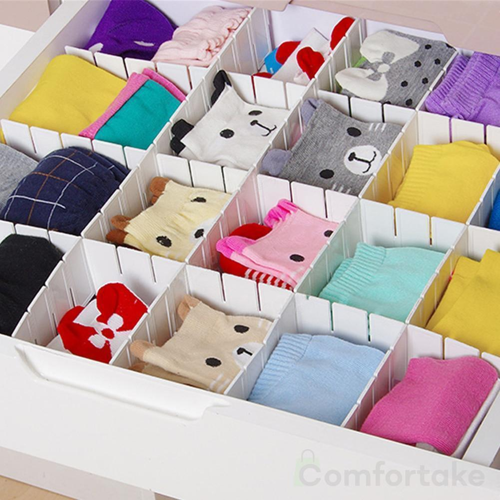 Adjustable Grid Drawer Dividers Pack