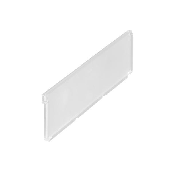 Elfa Clear Basket Shelf Dividers 2 Pack