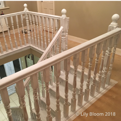 Balcony primed with Autentico Primer from Lily Bloom Interiors