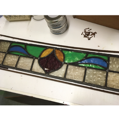 Damaged Leaded Light Panel