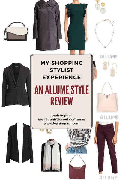 My Shopping Stylist Experience: An Allume Review
