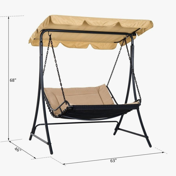 Modern Contemporary Hammock Swing Bed