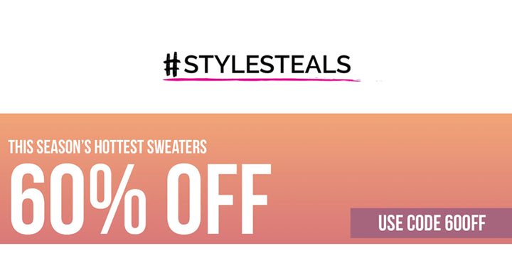 Style Steals at Cents of Style! CUTE Sweaters – B1G1 FREE! FREE SHIPPING!
