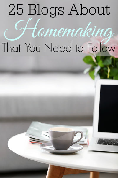 Looking for the best Homemaking blogs to follow? This list has a wide range of different homemaking blogs so you can find the right one for you.