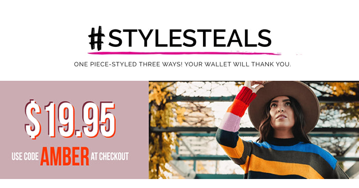 Style Steals at Cents of Style! CUTE Fall Striped Sweater – Just $19.95! FREE SHIPPING!