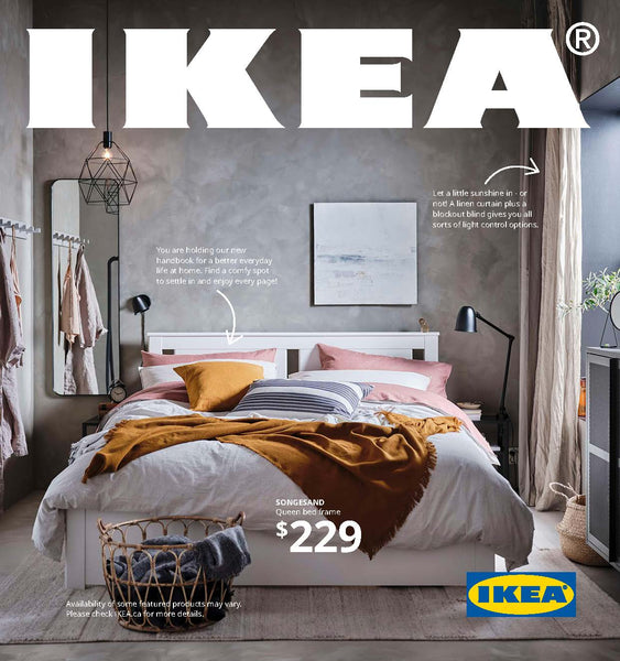 This year went by so quickly that I almost forgot that it's time for the new IKEA catalogue for 2021