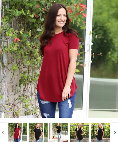 Order Here—> Cute Essential Tunic Top | S-3X for $11.99 (was $24.99) 2 days only.