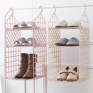 Bedroom Wardrobe Organizer Underwear Bra Clothes Pants Tie Storage Rack Closet