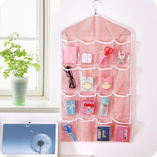 Load image into Gallery viewer, Wardrobe Hanging Organizer (16 Pockets)