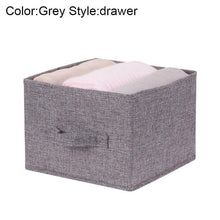 Load image into Gallery viewer, Drawer Shelves Hanging Wardrobe Organizer Storage Box Shoes Clothes For Bedroom E2S