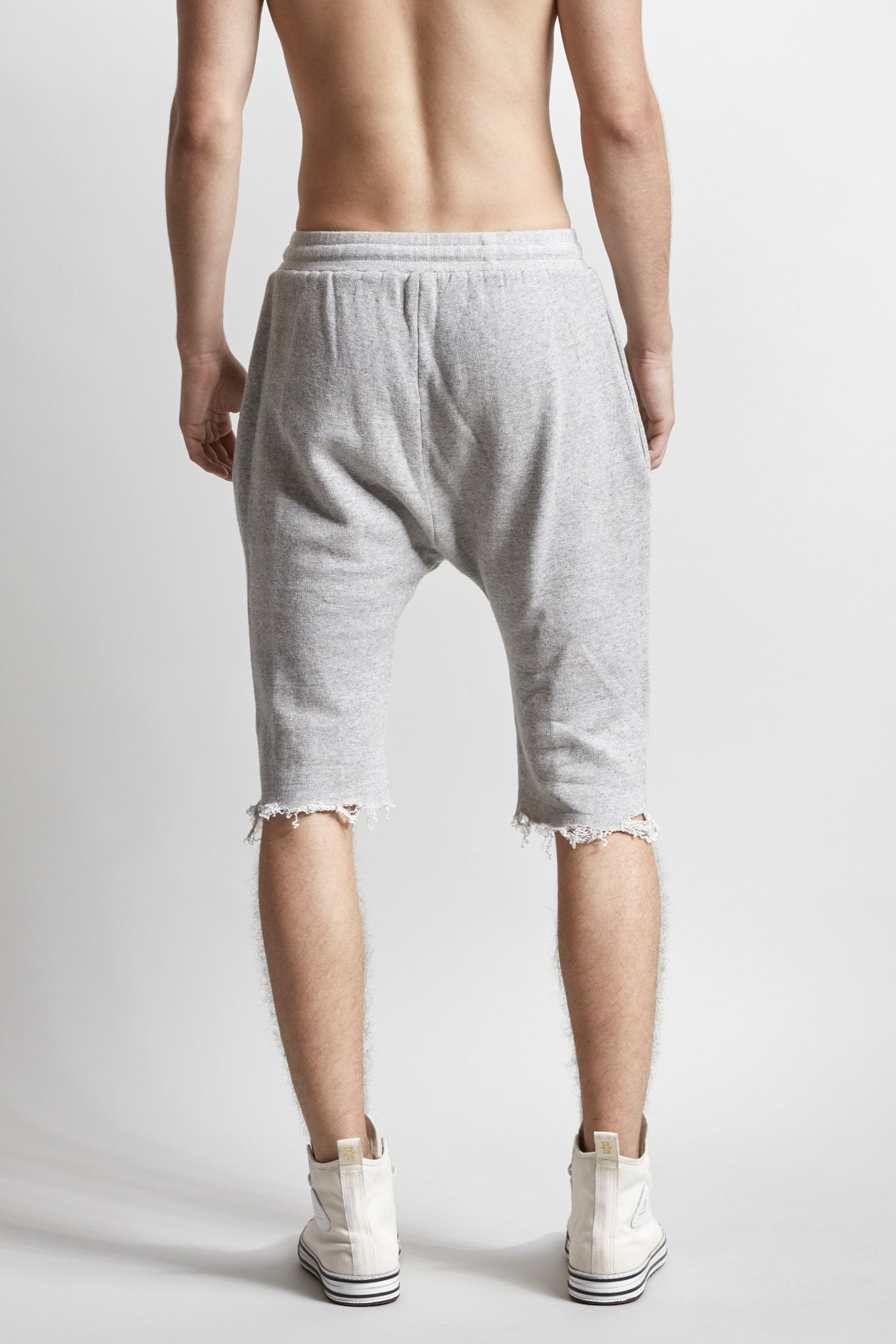 RThirteen Sweatshort - Heather Grey