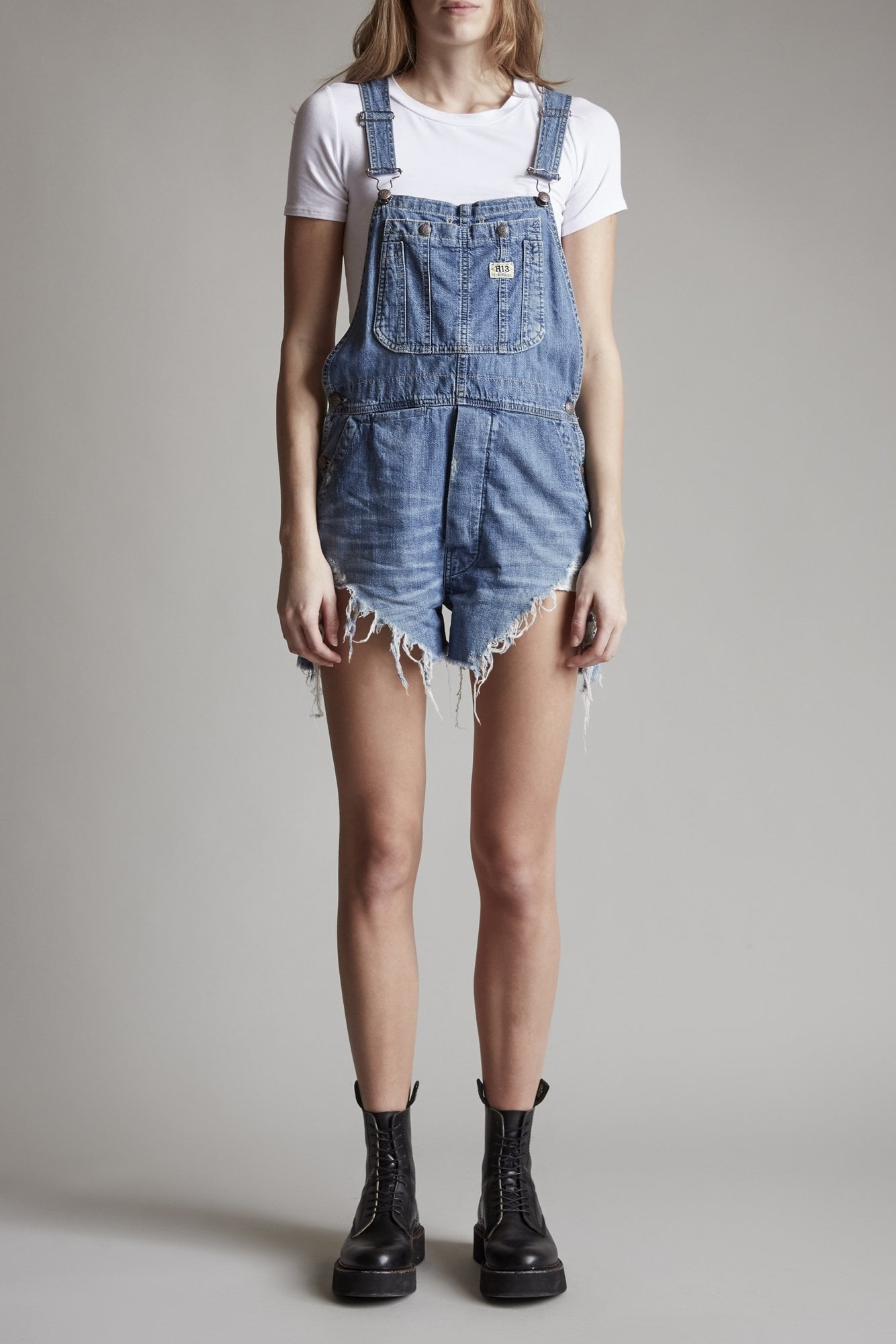 Overall Short – Brindley with Spiral Hem