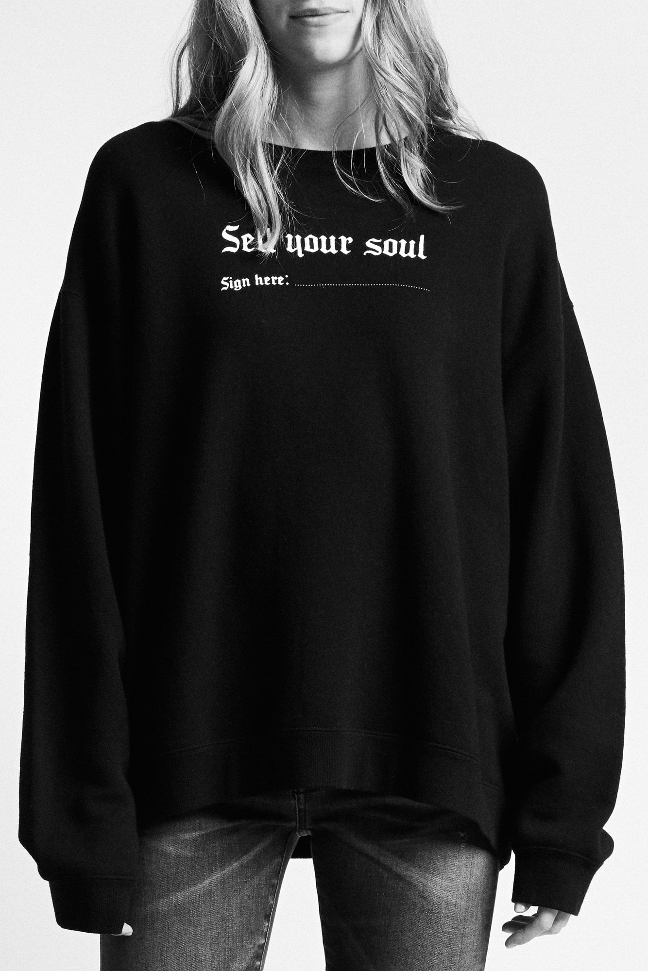 Sell Your Soul Sweatshirt - Black
