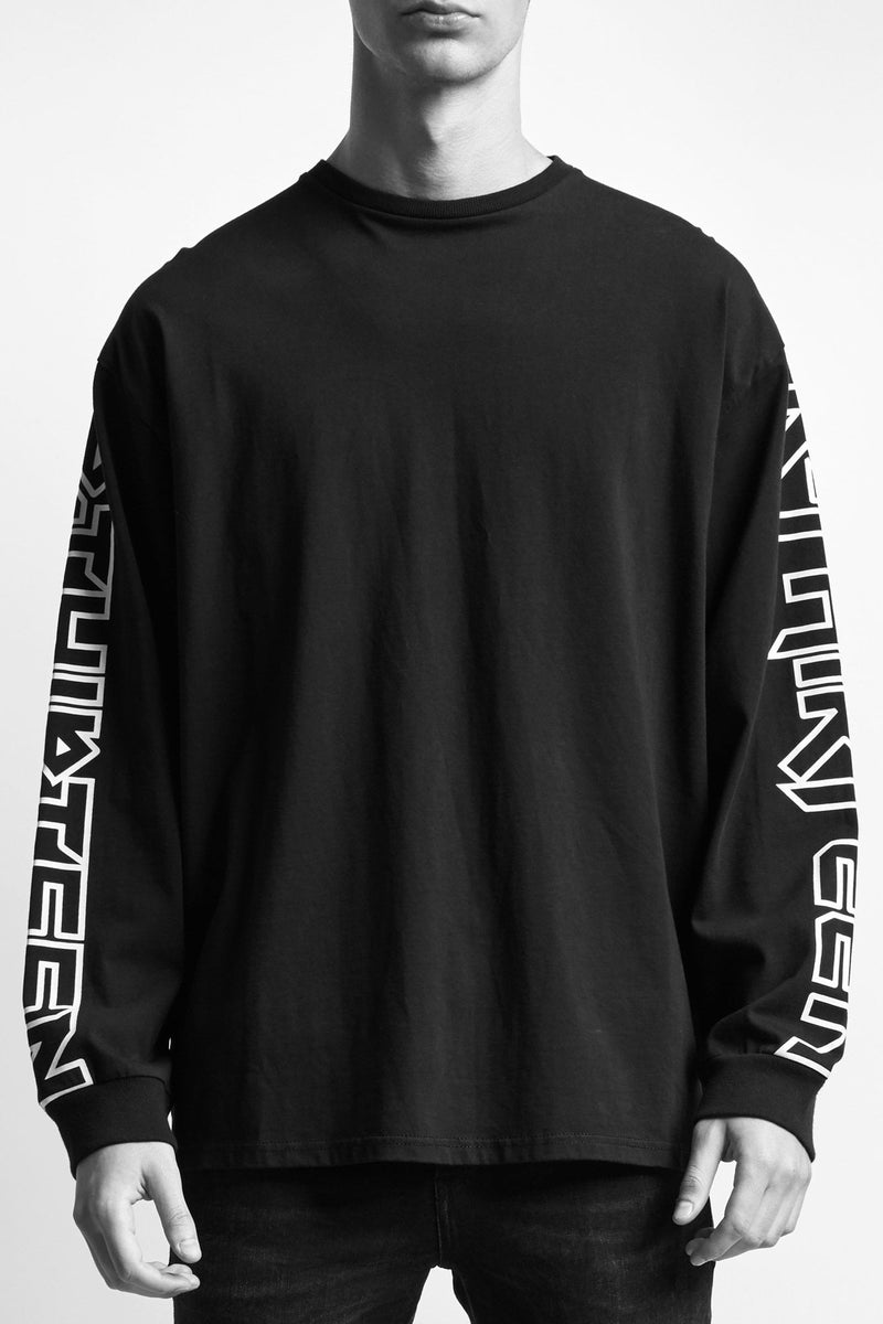 Rthirteen Long Sleeve T - Black