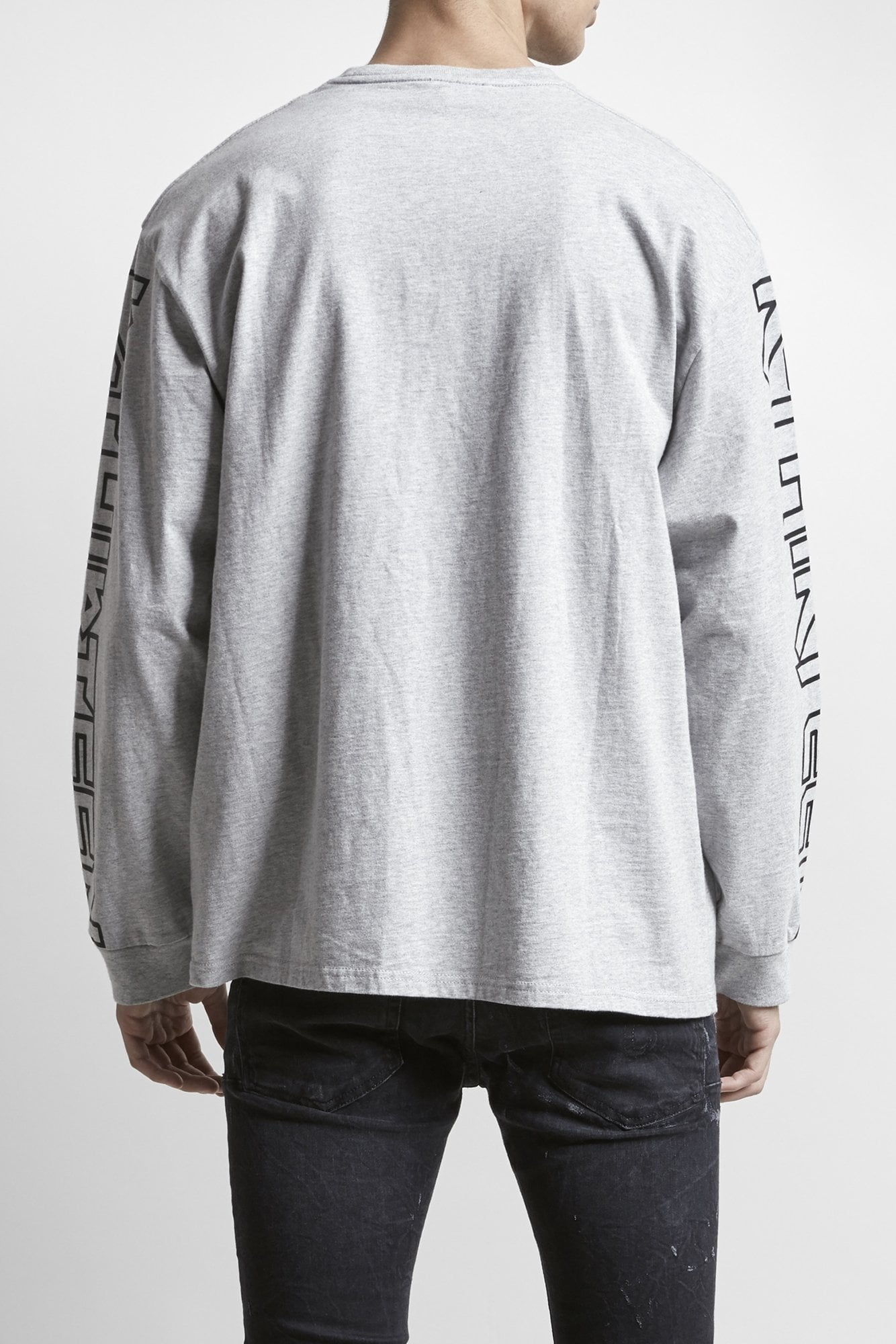 Rthirteen Long Sleeve T - Heather Grey