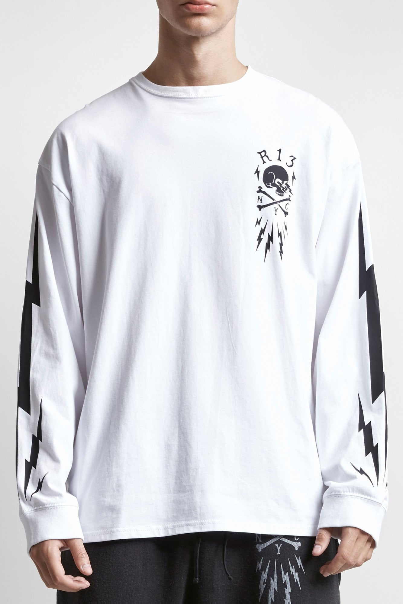 Skull Bolt Long Sleeve T