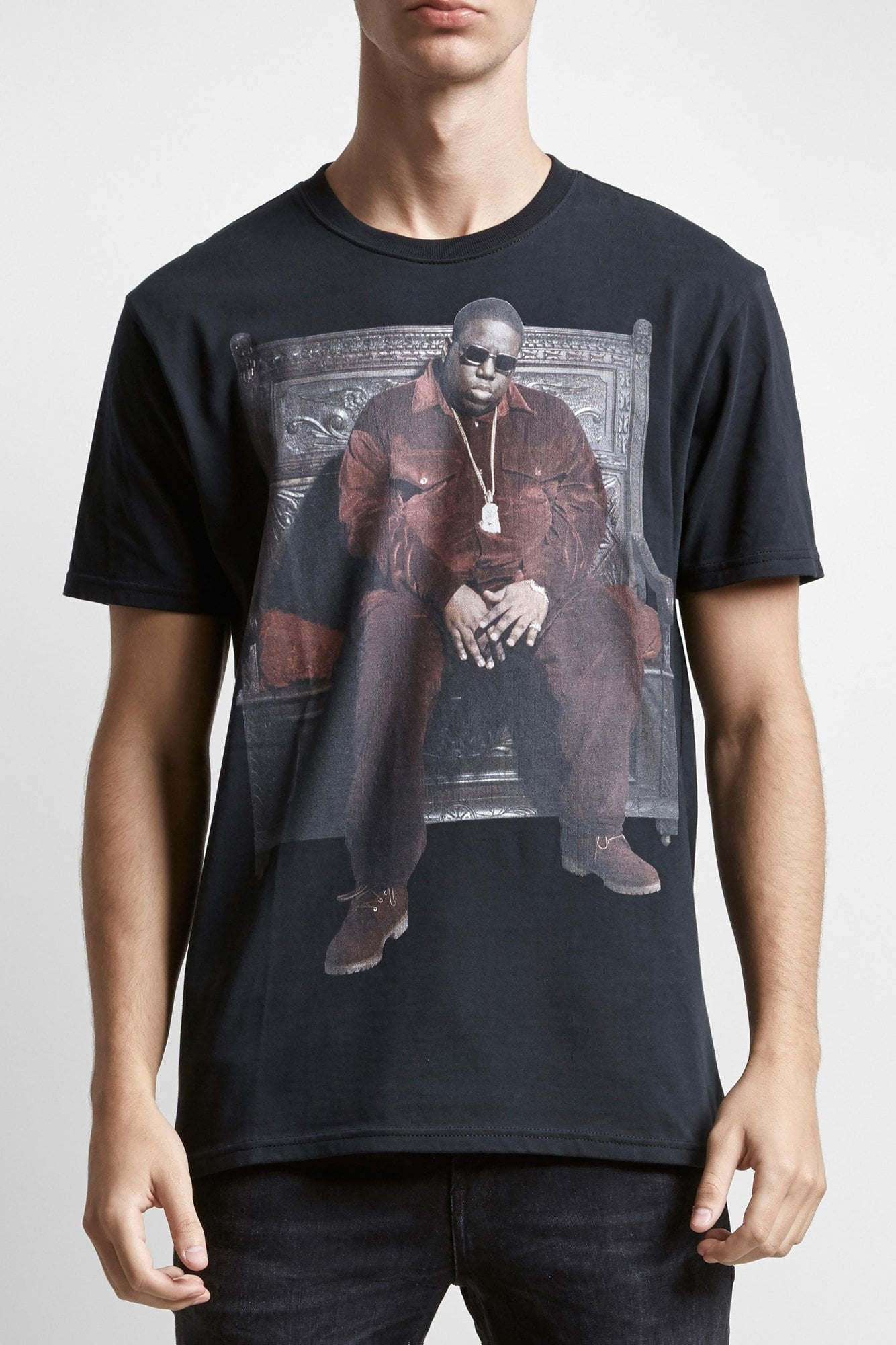Biggie Throne Curtis T- Vintage Black