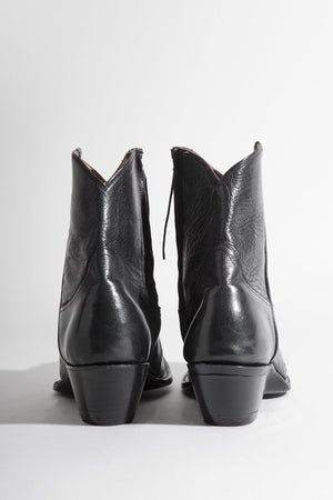 Cowboy Ankle Boot - Black