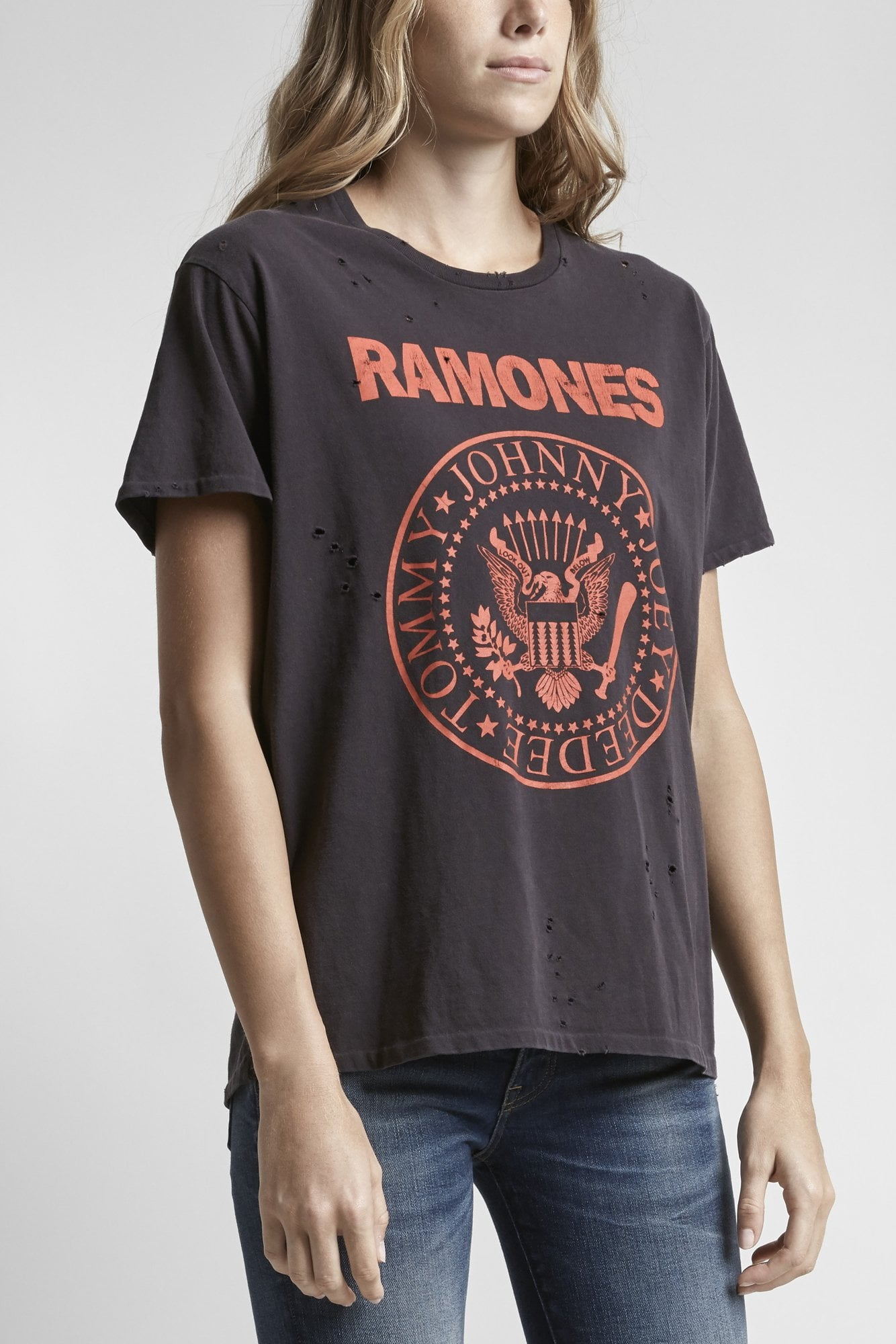 Ramones Boy T-Washed Black