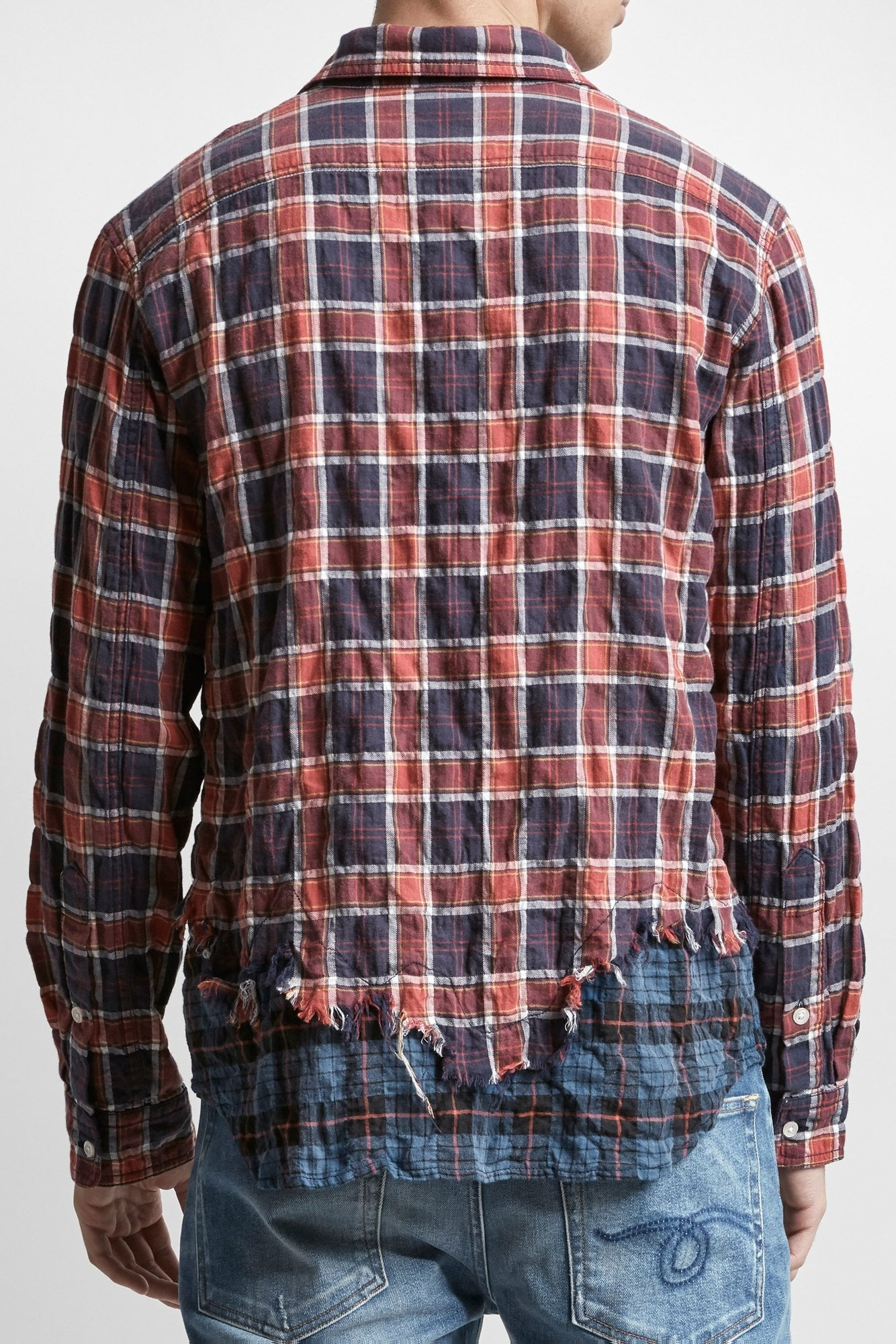 Tattered Hem Shirt