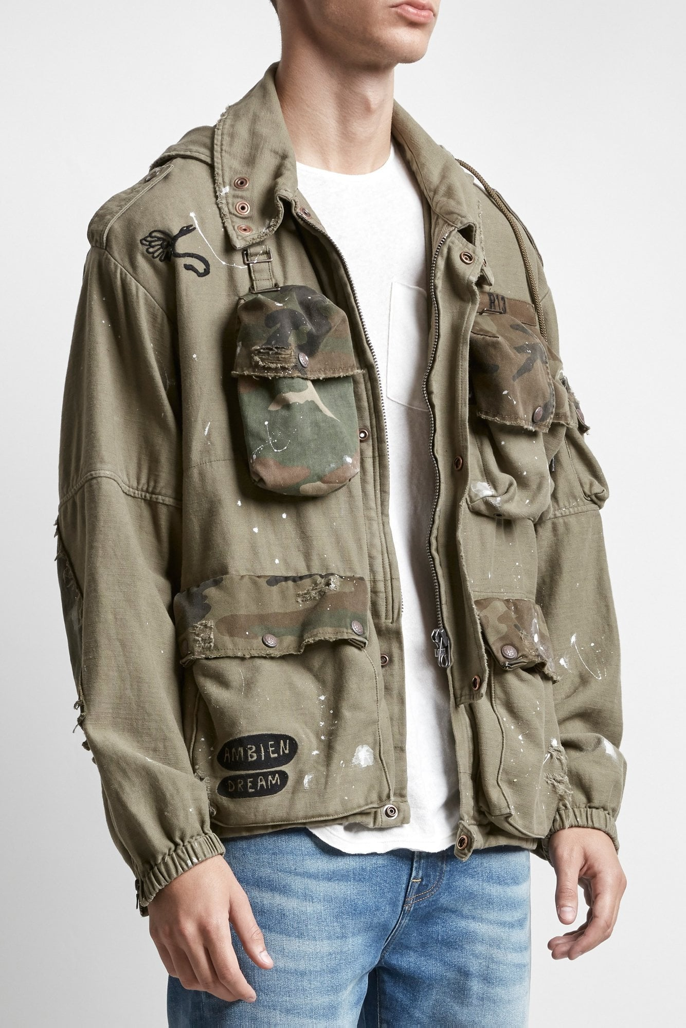 Multi-Pocket Jacket