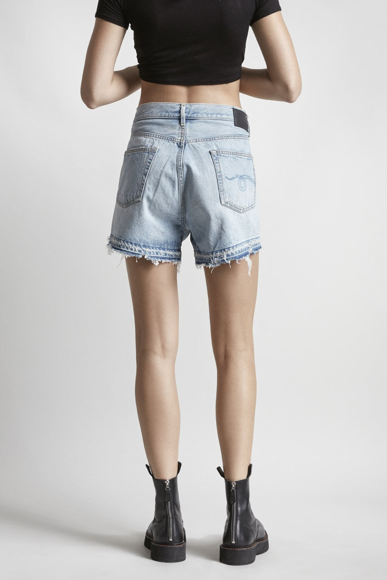 Cross Over Short- Tilly with Let Down Hem
