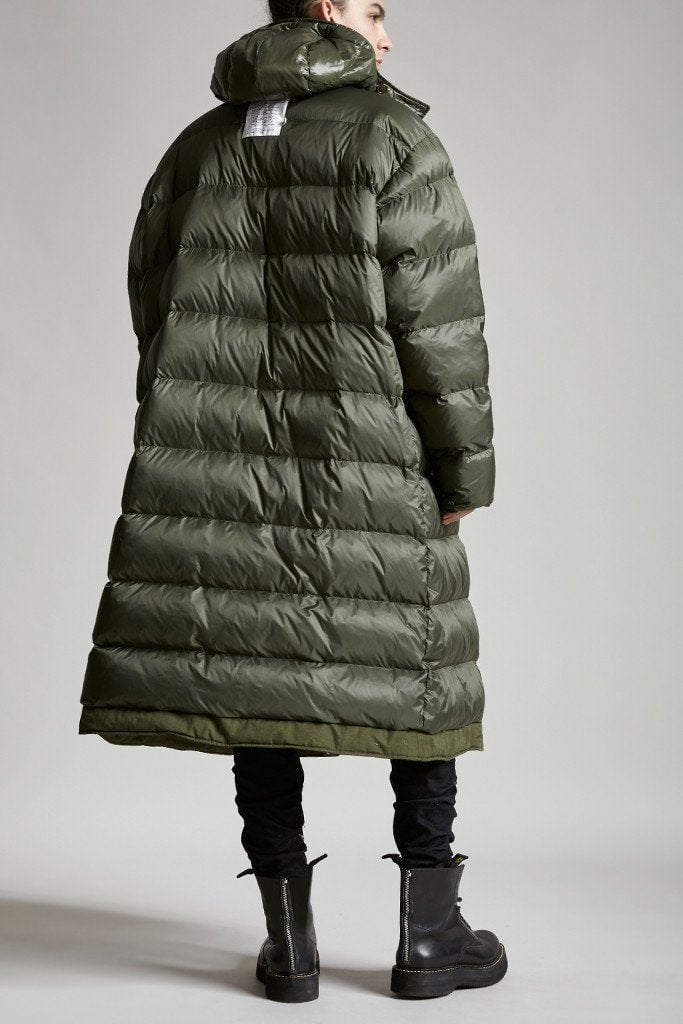 Long Anorak Puffer Jacket