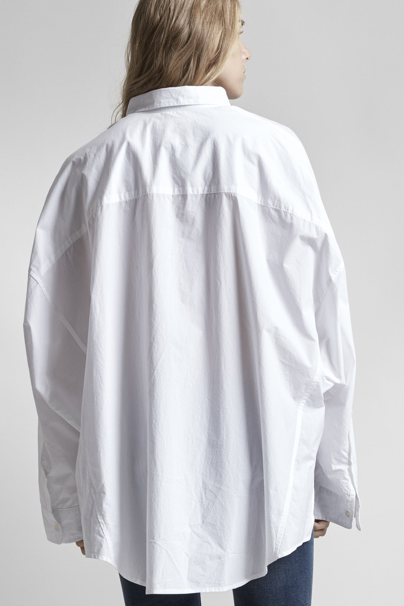 Oversized Shirt-White
