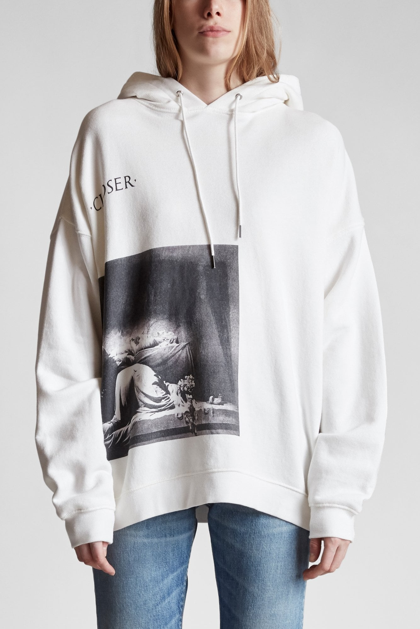 Closer Album Oversized Hoodie