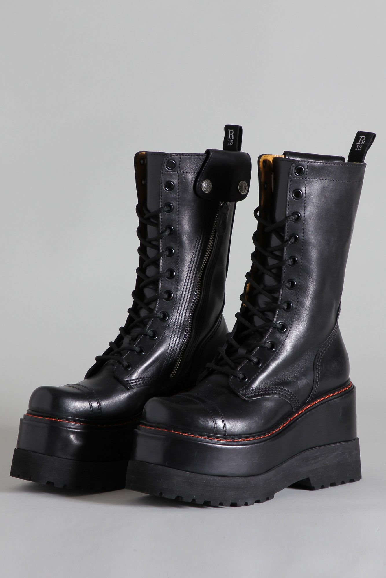 Medium Platform Boot - Black