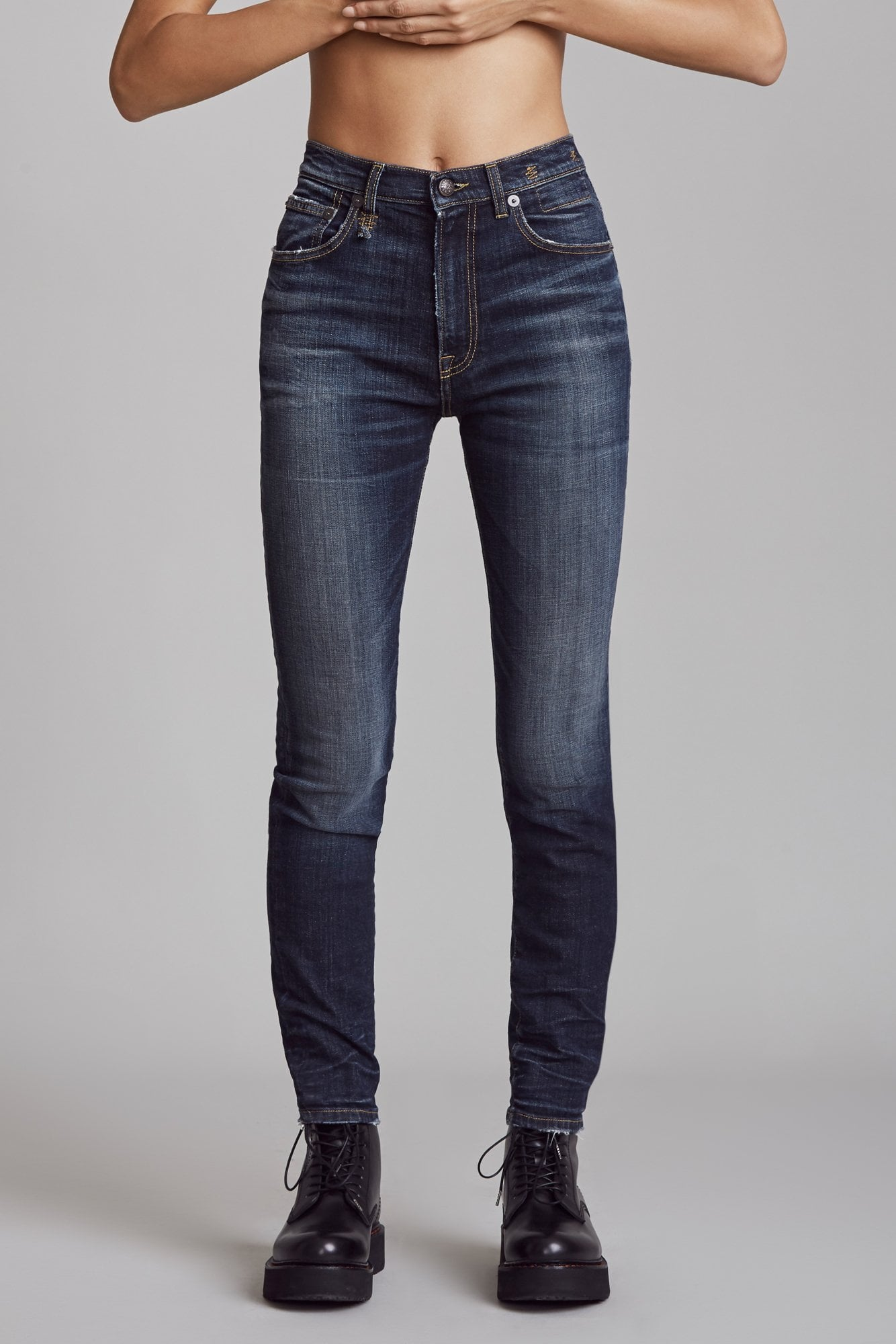 High Rise Skinny - Howell Indigo