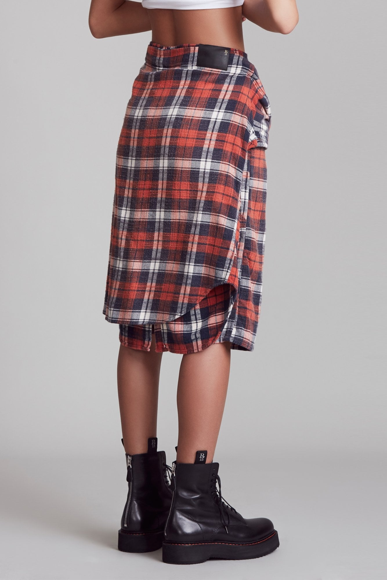 Vedder Short - Red and Blue Plaid