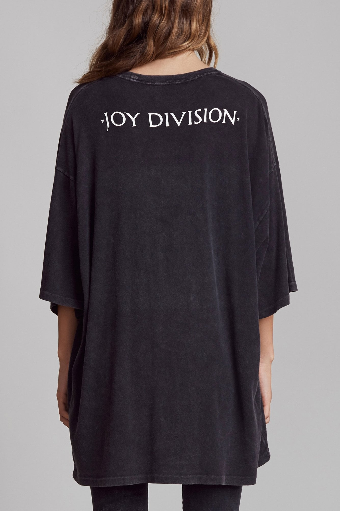 Joy Division Warsaw Oversized T - Acid Black