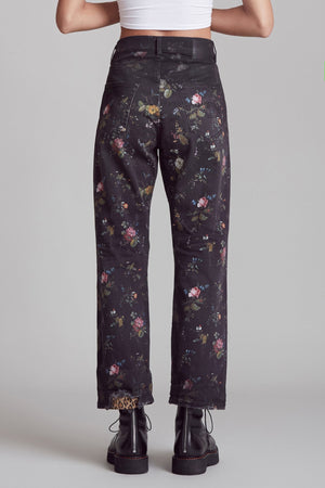 Boyfriend Jean - Light Floral