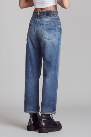 Pan Denim Trouser - Riley Indigo