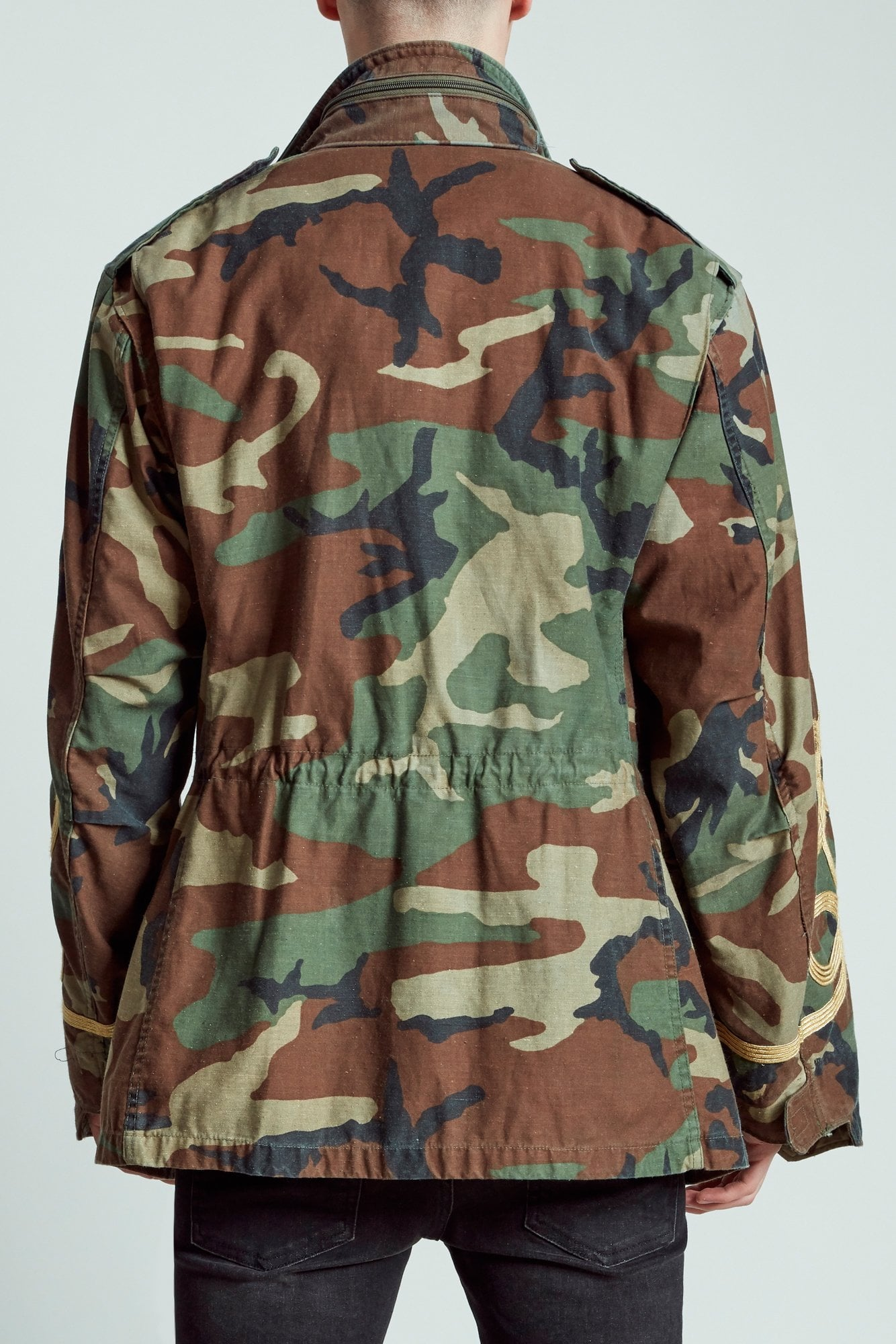 M65 Jacket- Camo with Embroidery