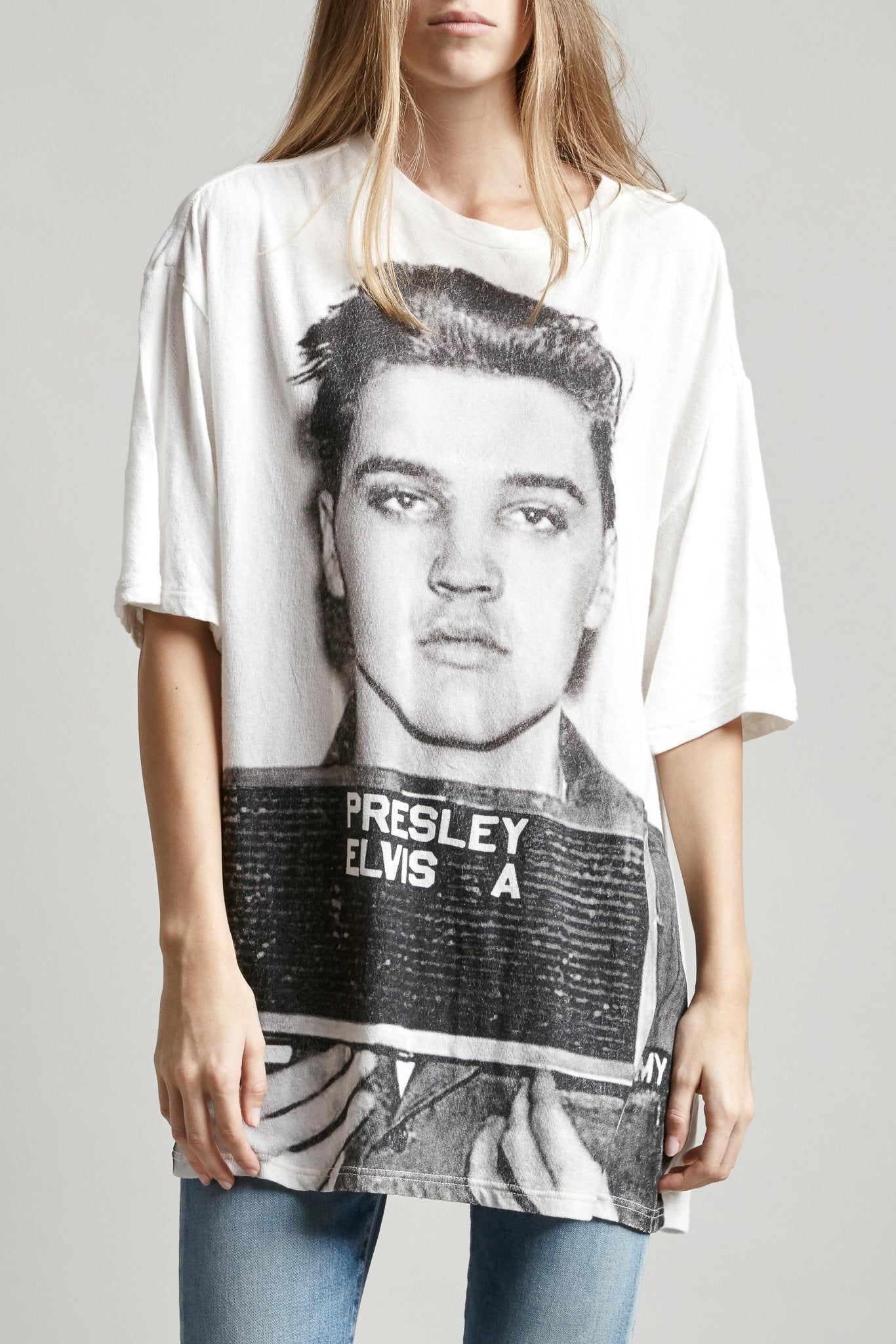 Elvis Mugshot Oversized T-shirt