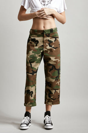 Slouch Pant - Camo