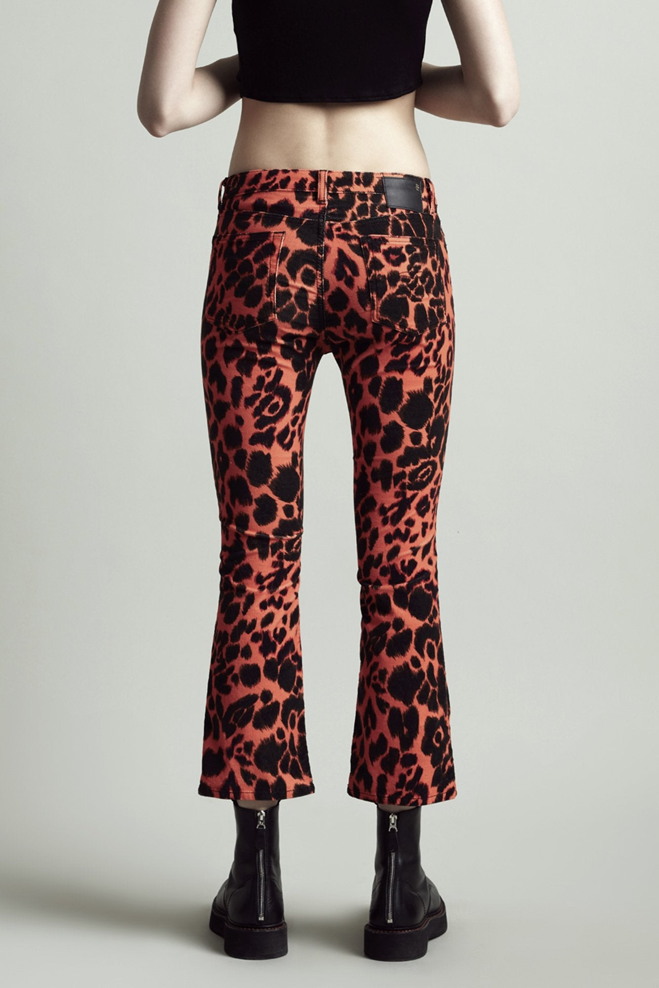 Kick Fit – Orange Leopard