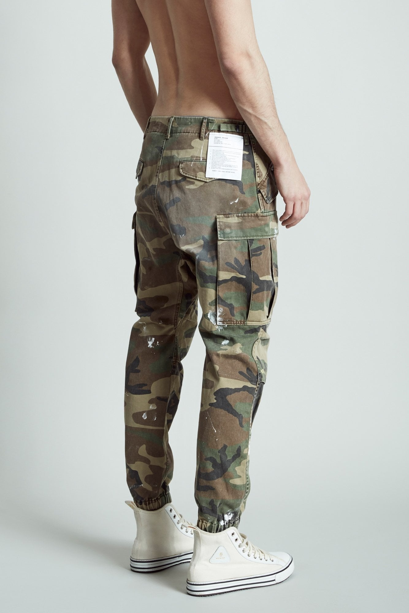 Camo Cargo with Paint