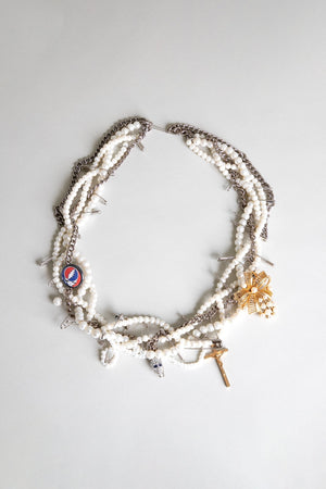 Punk Pearl GD Necklace